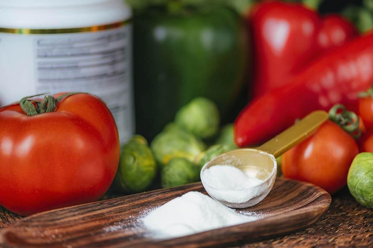 plant protein supplement powder