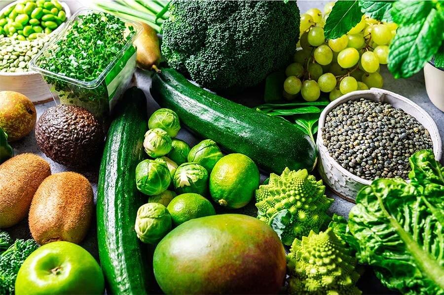 magnesium green vegetables (2)