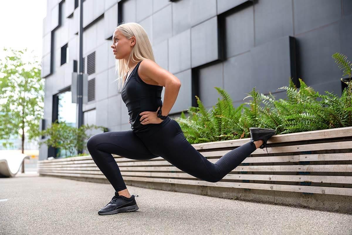 bulgerian split squat bodyweight