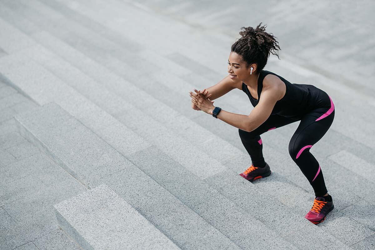 jumping squat bodyweight