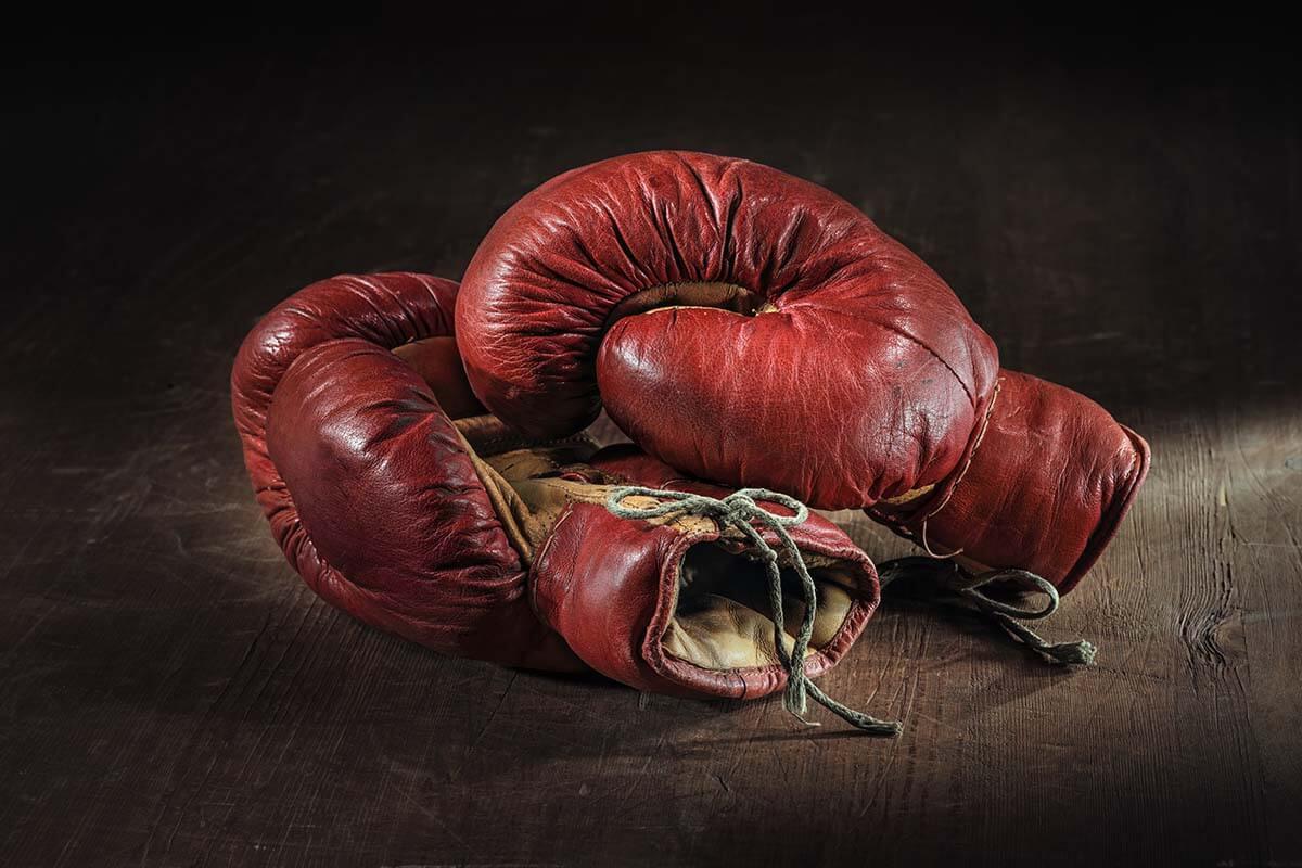 boxing gloves for boxercise