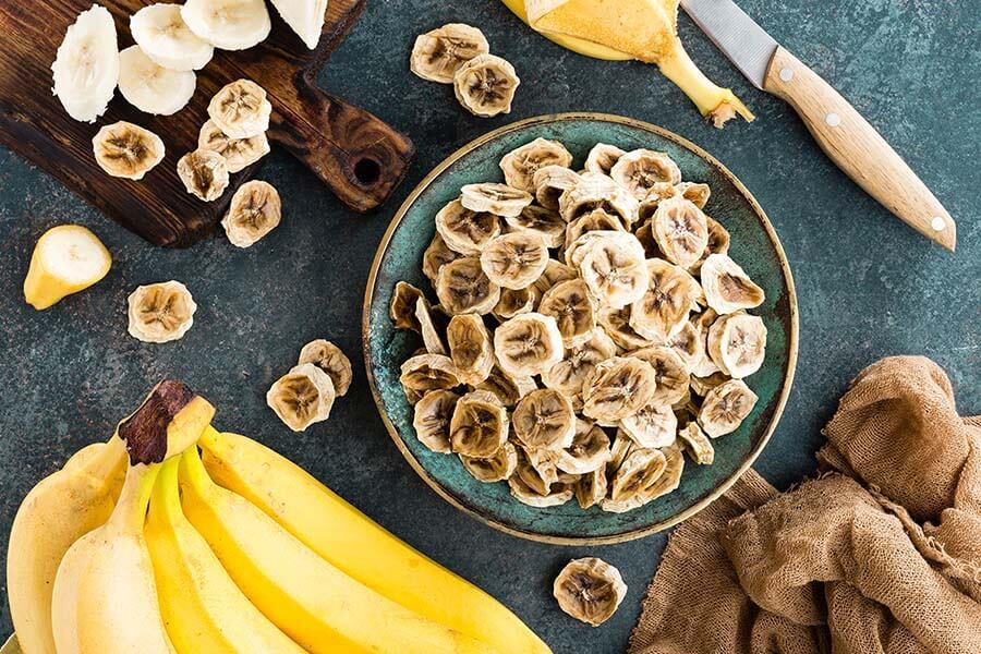 potassium banana