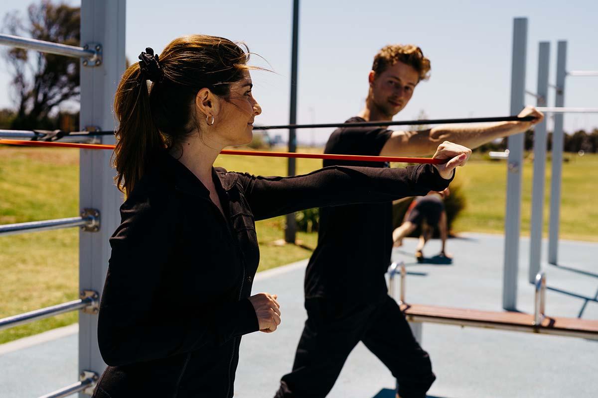 rehabilitation training pt